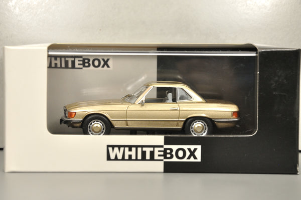 Mercedes-Benz 350SL (R107) 1971 1/43 WHITEBOX