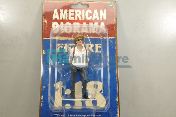 Figurine Homme Partygoers 1/18 AMERICAN DIORAMA
