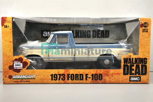 "Ford F-100 1973 "" The Walking Dead "" 1/18 GREENLIGHT"