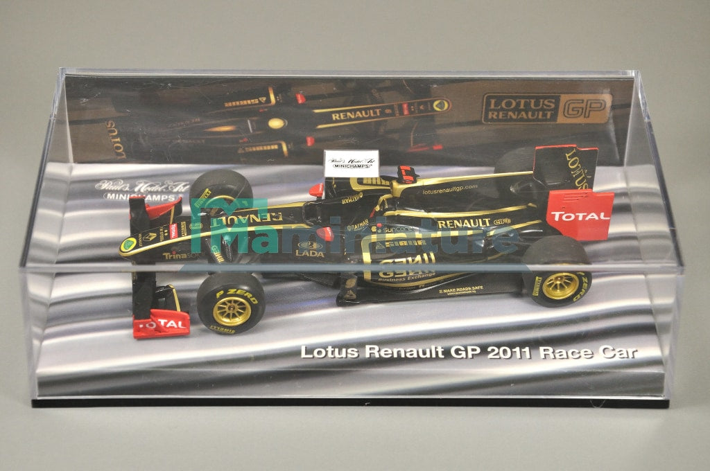 Lotus Renault Gp 2011 Race Car 1/43 Minichamps