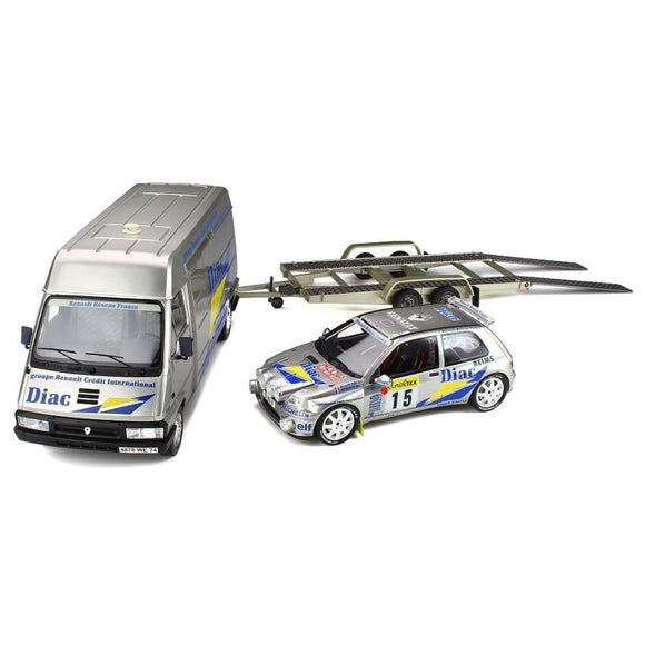 Pack Rallye Renault Clio Maxi Version Nuit 1/18 OTTOMOBILE