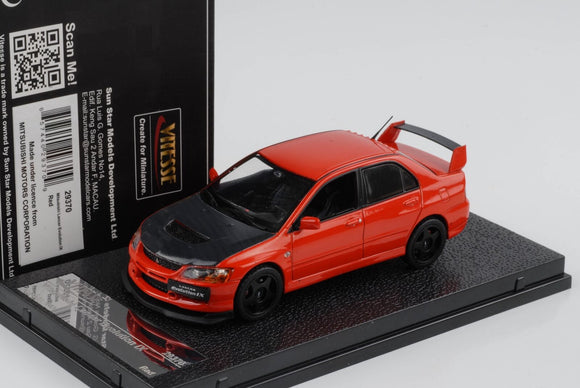 Mitsubishi Lancer Evolution IX Rouge 1/43 VITESSE SUNSTAR