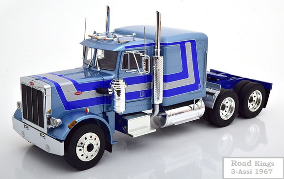 Peterbilt 359 Truck 3-Assi 1967 1/18 ROAD KINGSPeterbilt 359 Truck 3-Assi 1967 1/18 ROAD KINGS