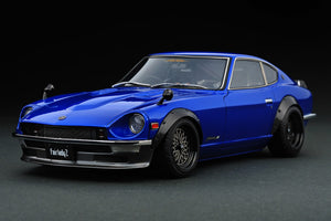 Nissan Fairlady Z S30 Blue 1/18 IGNITION IG0649