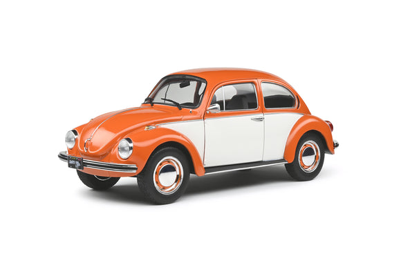 VW Beetle 1303 Bi-Color Orange 1974 1/18 SOLIDO S1800515