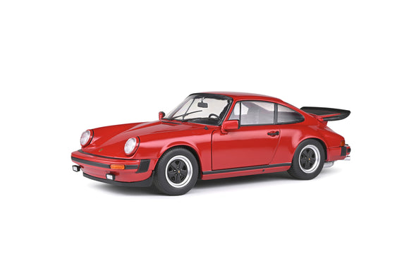 Porsche 911 Carrera 3.2L Red 1984 1/18 SOLIDO S1802604