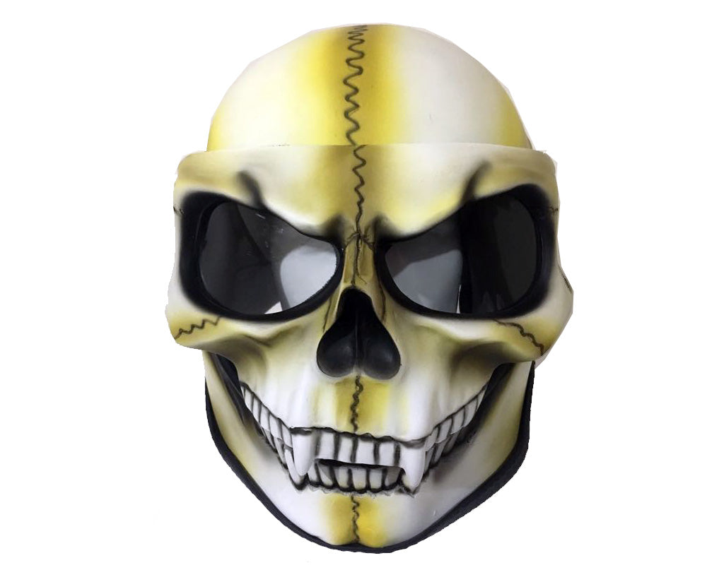 new skull skeleton ghost rider full face motorcycle helmets with