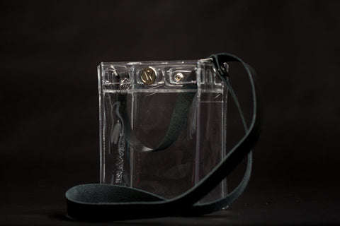 Crossbody Bag with Leather Strap