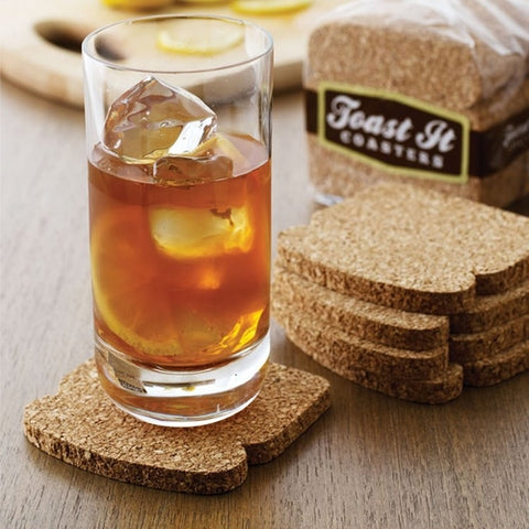 Cork Toast Coasters - Home & Garden - [shop name]