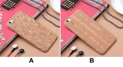 Cork Wood iPhone Case