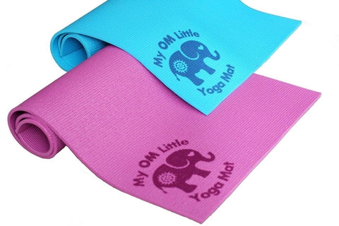 My OM Little Yoga Mat- Perfect Size for Babies, - Kids & Babies - [shop name]