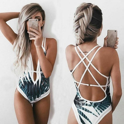 Beautiful Women's Beach Swimsuit Swimwear Bathing - Women's Clothing - [shop name]