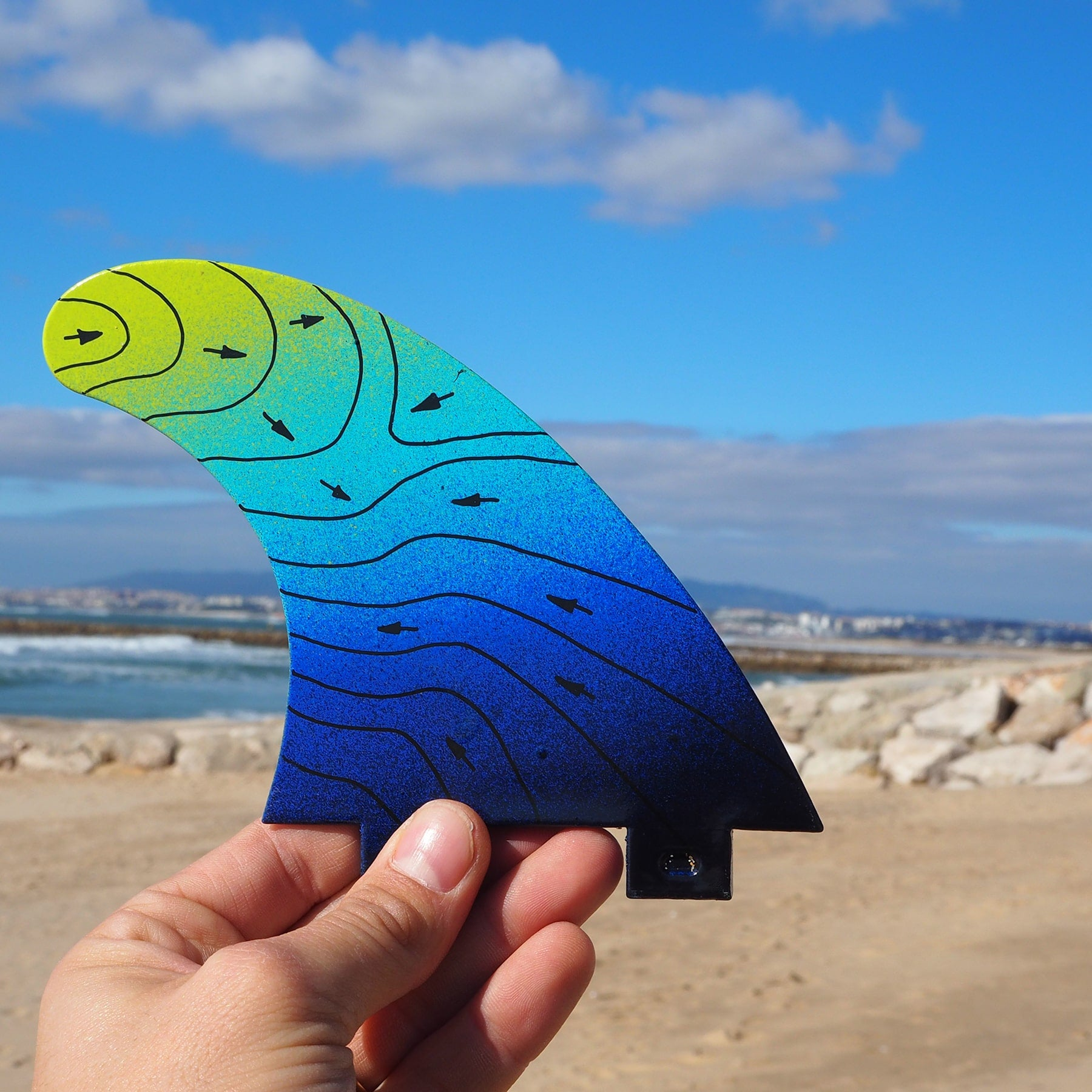 NEW Medium G5 Fins - 100% Recycled and Reused Materials -  - [shop name]