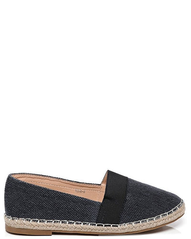 Womens Canvas Upper Navy Espadrilles - Women's Clothing - [shop name]