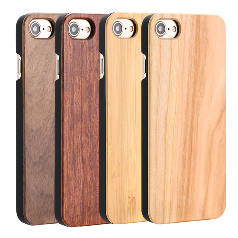 Simple Wooden Case for iPhone Models - iPhone cases - [shop name]