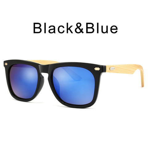 SANDSTORM - Bamboo Sunglasses For Men with Wooden Case - Sunglasses - [shop name]