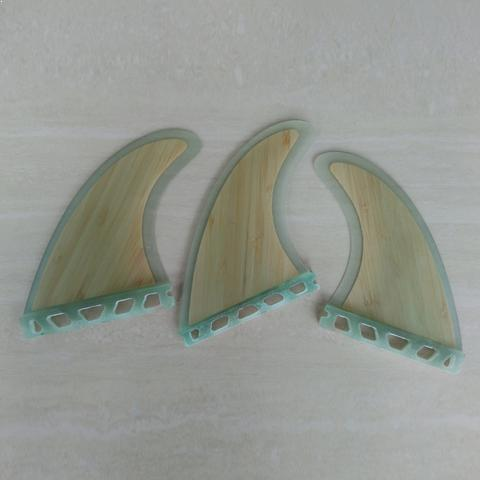WHITEY - G5 Fiberglass & Bamboo Surfing Fins for FCS/Futures Systems - Fins - [shop name]