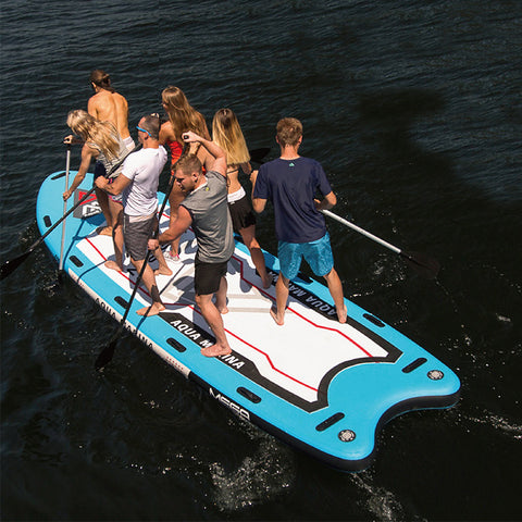Multiple Person - Inflatable SUP Stand Up Paddle - 650Kg Payload