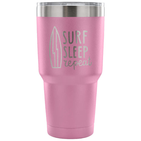 SHAKA SURF TRAVEL TUMBLER - Surf Sleep Repeat 30 oz Tumbler
