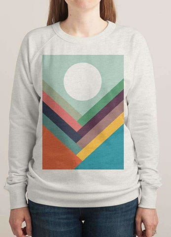 ROWS OF VALLEYS SWEAT SHIRT - Women's Clothing - [shop name]