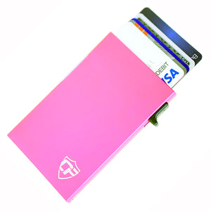 Card Blocr Credit Card Holder in Pink