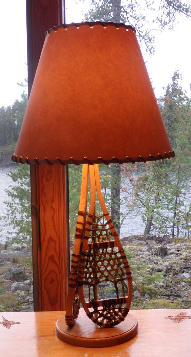 Huron Snowshoe Table Lamp