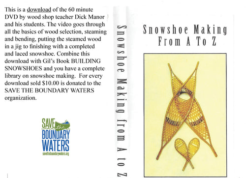 Snowshoe Making A-Z Download