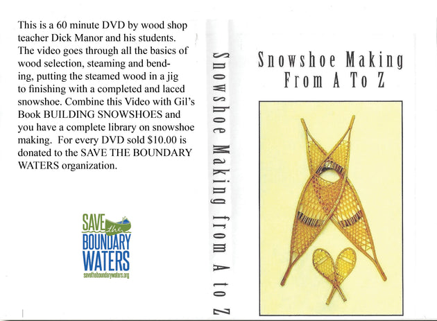 Snowshoe Making From A to Z DVD
