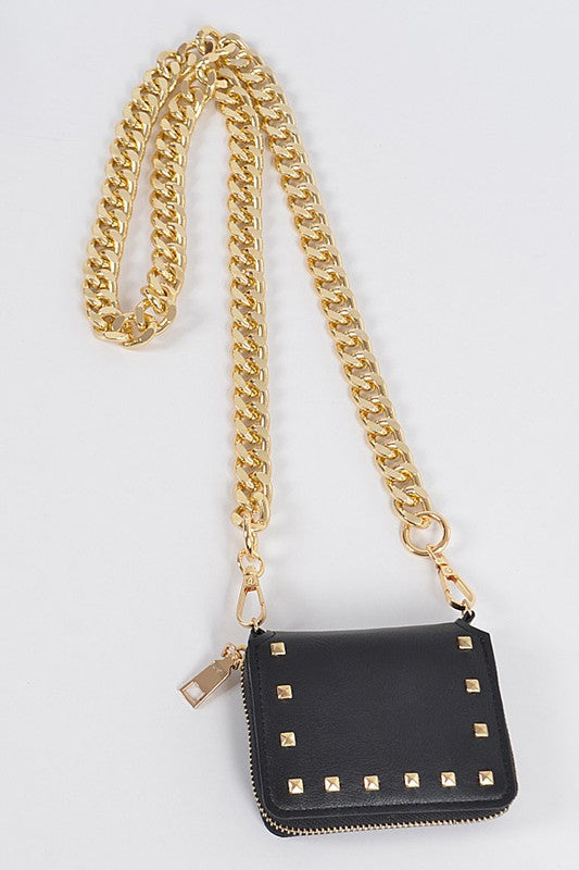 Oversized Chained Wallet