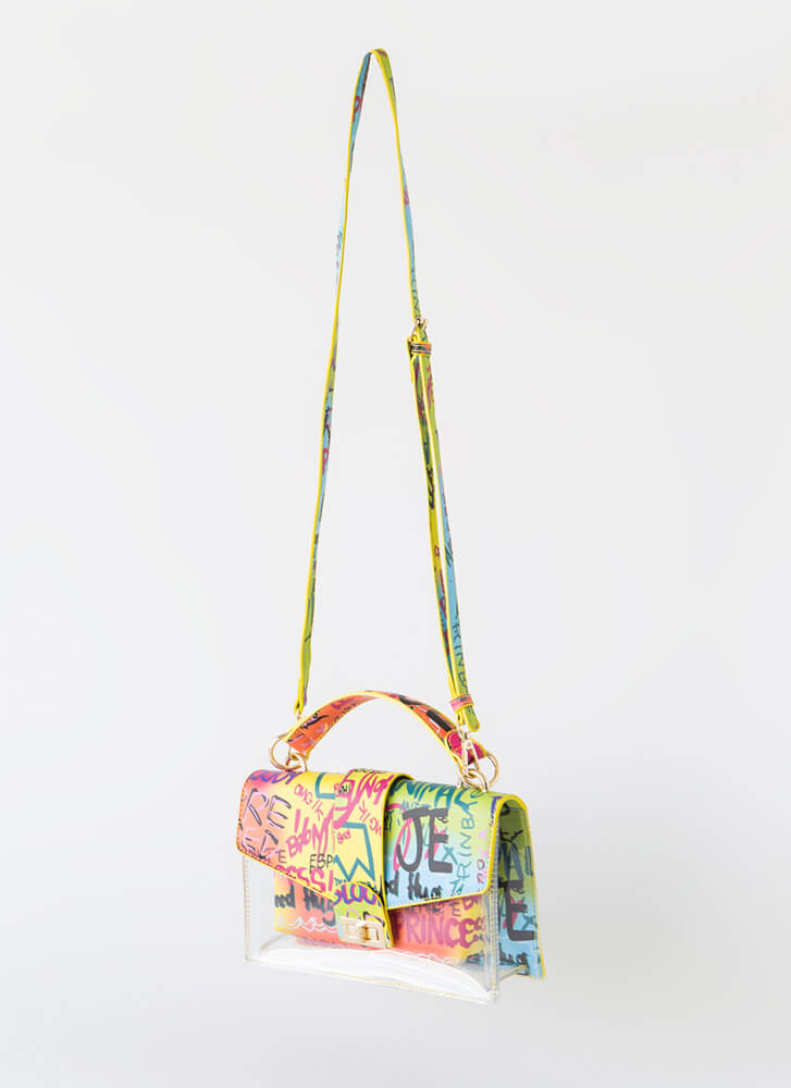 Graffiti Diva Handbag Set