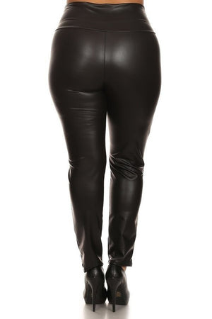 Split Knee Leggings