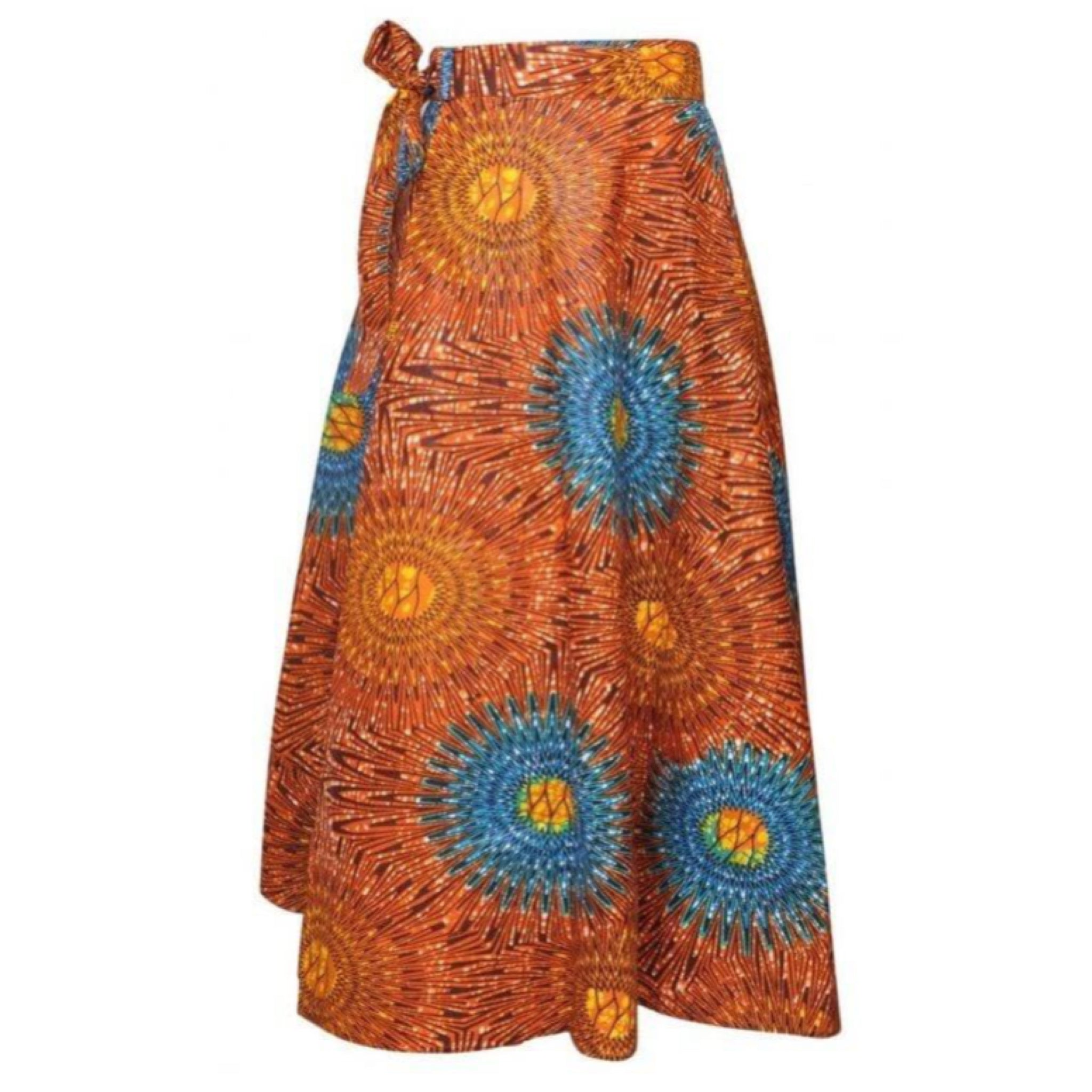 Maxi Wrap Skirt - The Kurve