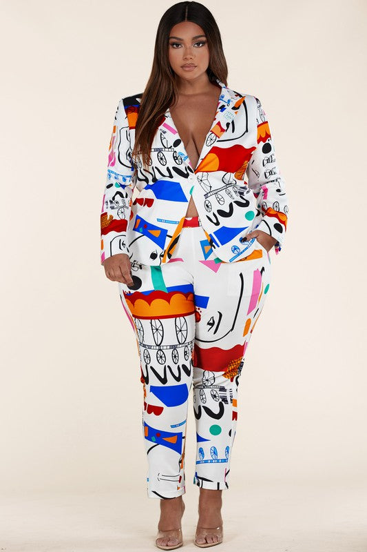Art Party Pant Suit