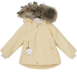 Wally Fur Jacket - Apricot Gelato