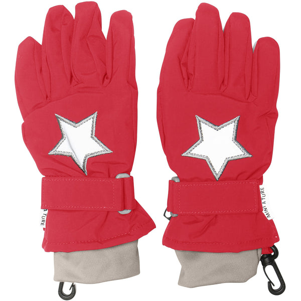 Celio Gloves - Chinese Red