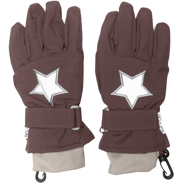 Celio Gloves - Deep Mahogany