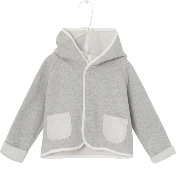 Matheo Hoodie - Light Grey Melange