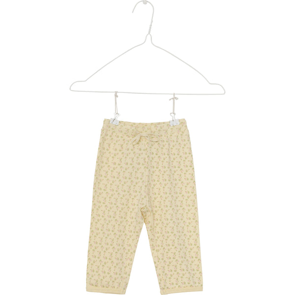 Yrsa Pants - Yelllow Anise Flower