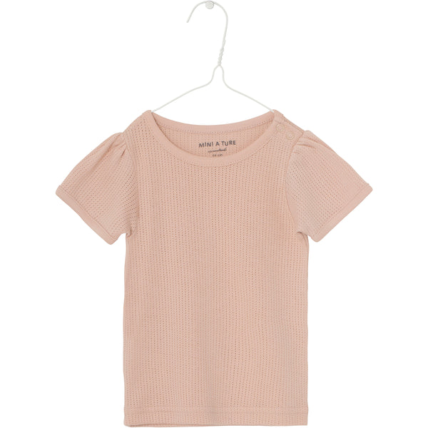 Ellamarie T-shirt - Rose Dust