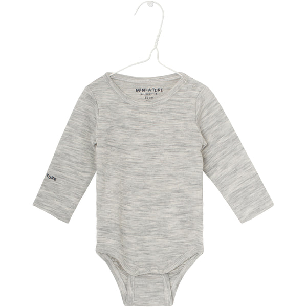 Ellis Body - Light Grey Melange