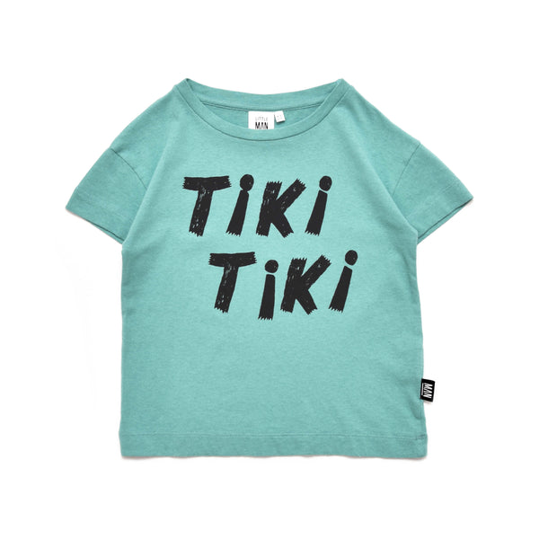 Little Man Happy - Tiki Tiki Box Shirt