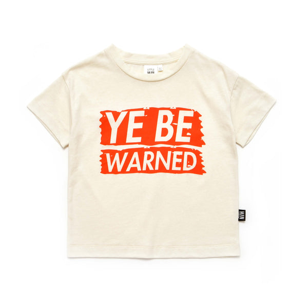 Little Man Happy - Ye Be Warned Box Shirt