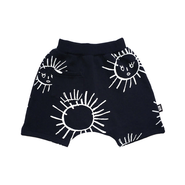 Little Man Happy - Black Sun Hang Loose Shorts