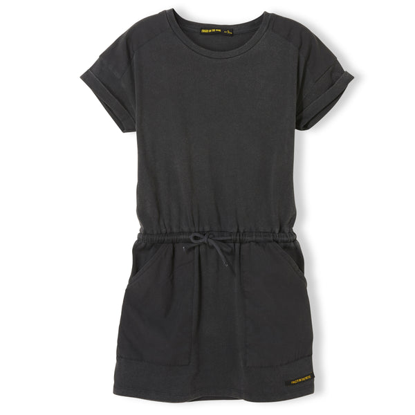 School short sleeve dress - Vintage Black