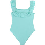 BILLIE BLUSH SWIMSUIT - Blå