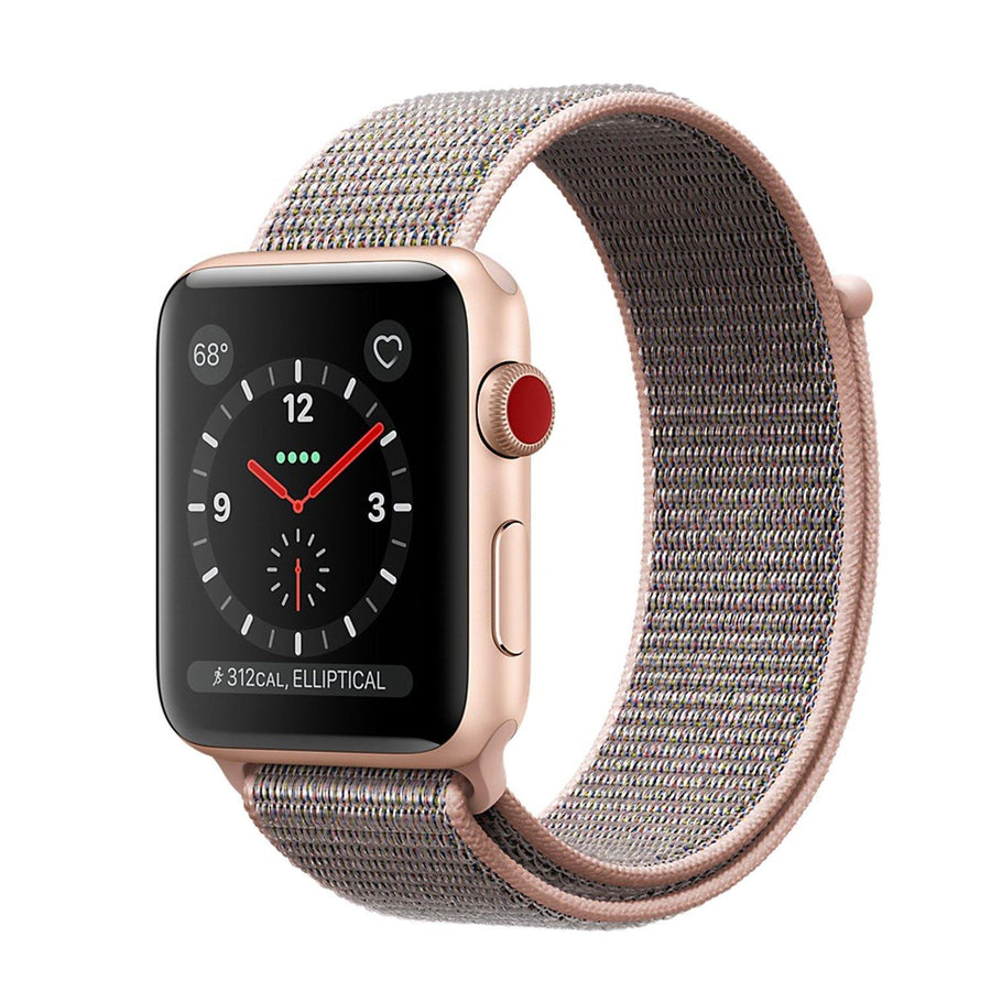Apple Watch Band, Sumer 19, Woven Nylon Scratch