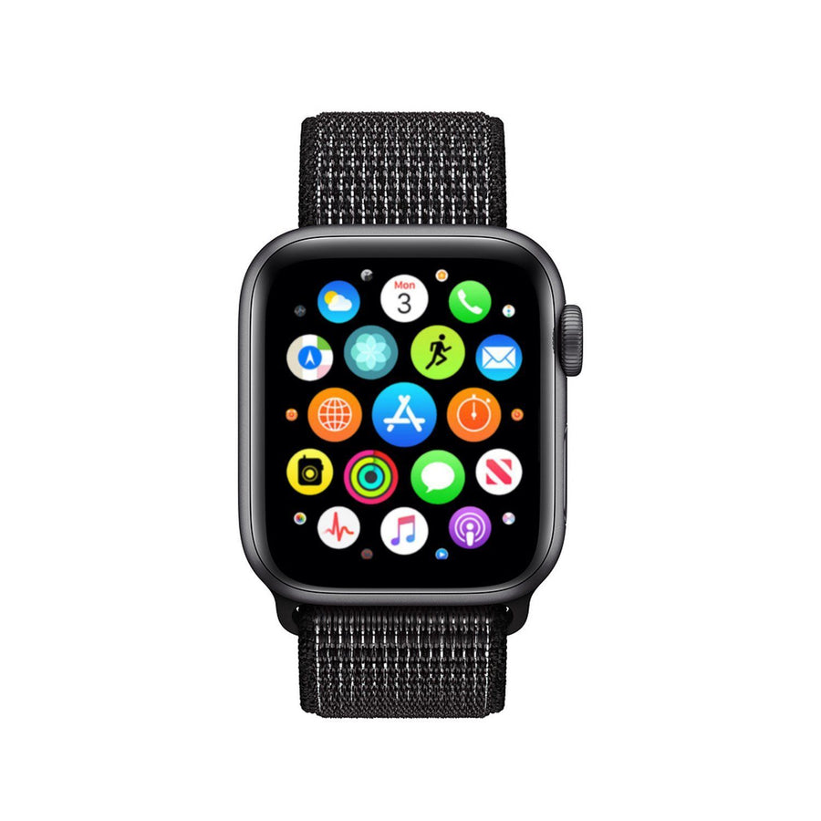 Apple Watch Band, Woven Nylon Sport Loop, Scratch Reflective