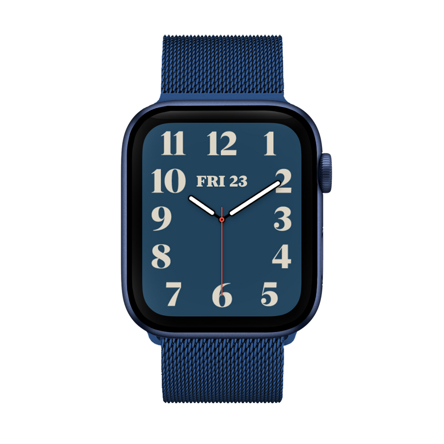 Band for Apple Watch, Milanese Loop Band, Dark Blue