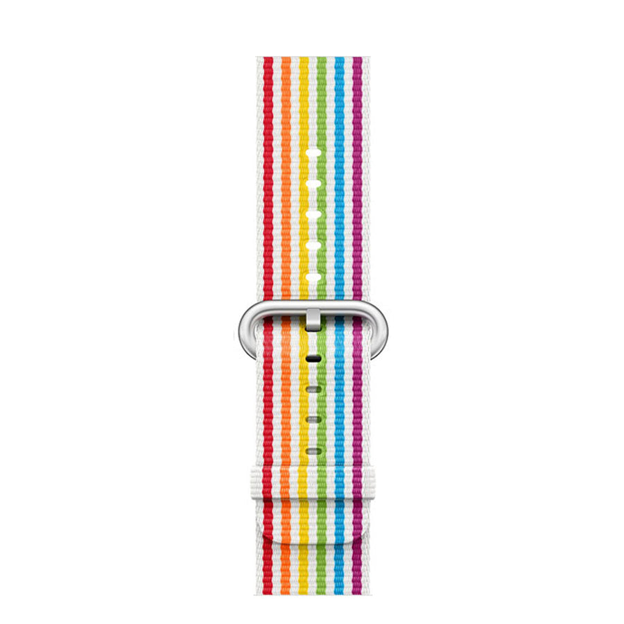 Apple Watch Band, Nylon with clasp, Pride