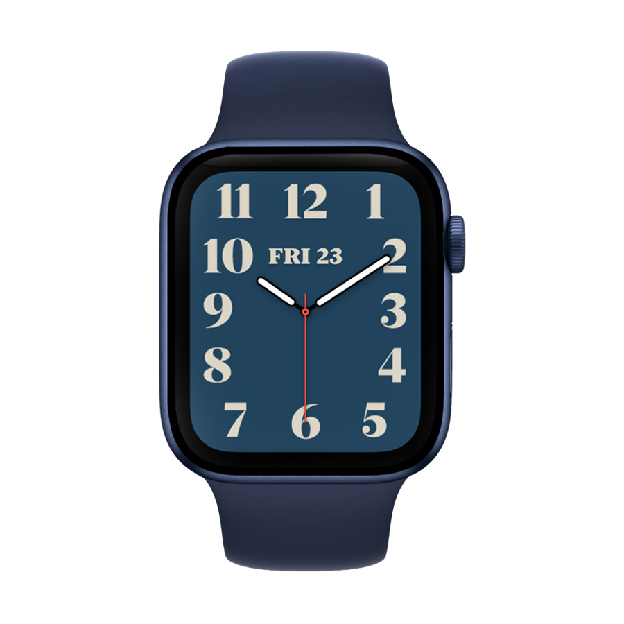Band for Apple Watch, Silicone Classic, Midnight Blue